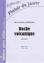 Pierre-Richard DESHAYS : Roche volcanique.  Elémentaire. Lafitan : P.L.2851.